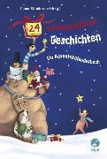 Cover-Bild zu 24 weihnachtliche Geschichten. Ein Adventskalenderbuch von Steinbrede, Diana (Hrsg.)