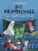 Cover-Bild zu Die Krumpflinge - Egon spukt in der Schule (eBook) von Roeder, Annette