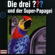 Cover-Bild zu Die drei Fragezeichen und der Super-Papagei von Hitchcock, Alfred