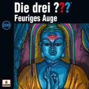 Cover-Bild zu Die drei ??? 200 / Feuriges Auge- Limited Edition