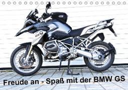 Cover-Bild zu Freude an - Spaß mit der BMW GS (Tischkalender 2021 DIN A5 quer) von Ascher, Johann