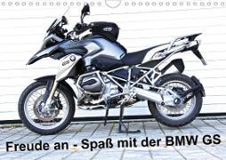 Cover-Bild zu Freude an - Spaß mit der BMW GS (Wandkalender 2021 DIN A4 quer) von Ascher, Johann