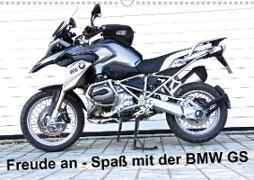 Cover-Bild zu Freude an - Spaß mit der BMW GS (Wandkalender 2021 DIN A3 quer) von Ascher, Johann