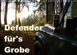 Cover-Bild zu Defender für's Grobe (Wandkalender 2021 DIN A3 quer) von Ascher, Johann
