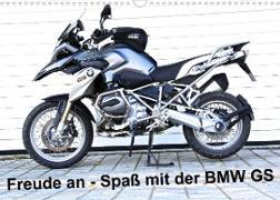 Cover-Bild zu Freude an - Spaß mit der BMW GS (Wandkalender 2022 DIN A3 quer) von Ascher, Johann