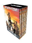 Cover-Bild zu Attack on Titan Season 1 Part 1 Manga Box Set von Isayama, Hajime
