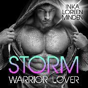 Cover-Bild zu Storm - Warrior Lover 4 (Audio Download) von Minden, Inka Loreen