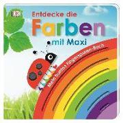 Cover-Bild zu Mein buntes Fingerspuren-Buch. Entdecke die Farben mit Maxi von Jaekel, Franziska
