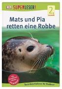 Cover-Bild zu SUPERLESER! Mats und Pia retten eine Robbe von Frank, Sabine
