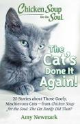Cover-Bild zu Newmark, Amy: Chicken Soup for the Soul: The Cat's Done It Again! (eBook)