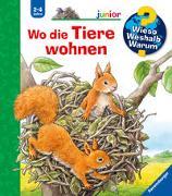 Cover-Bild zu Wieso? Weshalb? Warum? junior: Wo die Tiere wohnen (Band 46) von Möller, Anne