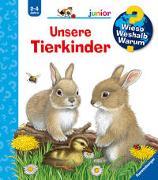 Cover-Bild zu Wieso? Weshalb? Warum? junior: Unsere Tierkinder (Band 15) von Nahrgang, Frauke