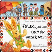 Cover-Bild zu Felix bei den Kindern dieser Welt von Langen, Annette