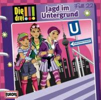 Cover-Bild zu Jagd im Untergrund