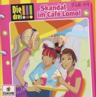 Cover-Bild zu Skandal im Café Lomo! von Wich, Henriette