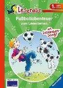Cover-Bild zu Dietl, Erhard: Fußballabenteuer zum Lesenlernen