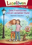 Cover-Bild zu Leselöwen 1. Klasse - Zwei Freundinnen und ein verliebter Hund von Richert, Katja