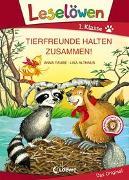 Cover-Bild zu Leselöwen 1. Klasse - Tierfreunde halten zusammen! von Taube, Anna