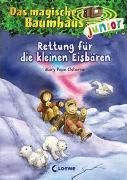 Cover-Bild zu Das magische Baumhaus junior 12 - Rettung für die kleinen Eisbären von Pope Osborne, Mary