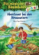 Cover-Bild zu Das magische Baumhaus junior 1 - Abenteuer bei den Dinosauriern von Pope Osborne, Mary