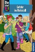 Cover-Bild zu Die drei !!!, 13, Gefahr im Reitstall (drei Ausrufezeichen) (eBook) von Wich, Henriette