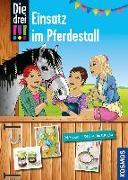 Cover-Bild zu Die drei !!!, Einsatz im Pferdestall von Erlhoff, Kari