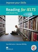 Cover-Bild zu McCarter, Sam: Improve Your Skills: Reading for IELTS 4.5-6.0 Student's Book with key & MPO Pack