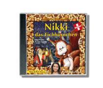 Cover-Bild zu Nikki das Eichhörnchen CD. Mit Sandra Studer