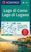 Cover-Bild zu KOMPASS Wanderkarte Lago di Como, Lago di Lugano. 1:50'000 von KOMPASS-Karten GmbH (Hrsg.)