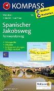 Cover-Bild zu KOMPASS Wanderkarte Spanischer Jakobsweg. 1:100'000 von KOMPASS-Karten GmbH (Hrsg.)