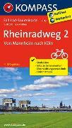 Cover-Bild zu Fahrrad-Tourenkarte Rheinradweg 2, Von Mannheim nach Köln. 1:50'000 von KOMPASS-Karten GmbH (Hrsg.)