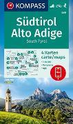 Cover-Bild zu KOMPASS Wanderkarte Südtirol, Alto Adige, South Tyrol. 1:50'000 von KOMPASS-Karten GmbH (Hrsg.)