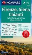 Cover-Bild zu KOMPASS Wanderkarte Firenze, Siena, Chianti, Val di Pesa, Val d'Elsa, Monteriggioni. 1:50'000 von KOMPASS-Karten GmbH (Hrsg.)