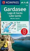 Cover-Bild zu KOMPASS Wanderkarte Gardasee, Lago di Garda, Lake Garda, Monte Baldo. 1:50'000 von KOMPASS-Karten GmbH (Hrsg.)