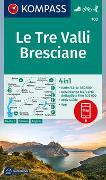 Cover-Bild zu KOMPASS Wanderkarte Le Tre Valli Bresciane. 1:50'000 von KOMPASS-Karten GmbH (Hrsg.)
