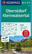 Cover-Bild zu KOMPASS Wanderkarte Oberstdorf, Kleinwalsertal. 1:25'000 von KOMPASS-Karten GmbH (Hrsg.)