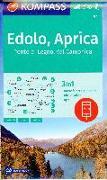 Cover-Bild zu KOMPASS Wanderkarte Edolo, Aprica, Ponte di Legno, Val Camonica. 1:35'000 von KOMPASS-Karten GmbH (Hrsg.)