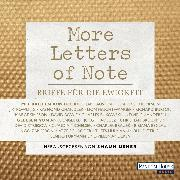 Cover-Bild zu Usher, Shaun: More Letters of Note (Audio Download)