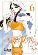 Cover-Bild zu The Heroic Legend of Arslan 6 von Arakawa, Hiromu