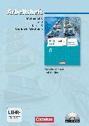 Cover-Bild zu Mathematik real, Differenzierende Ausgabe Nordrhein-Westfalen, 8. Schuljahr, Arbeitsheft mit eingelegten Lösungen und CD-ROM