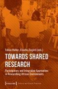 Cover-Bild zu Towards Shared Research (eBook) von Haller, Tobias (Hrsg.)