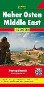 Cover-Bild zu Naher Osten, Autokarte 1:2 Mio. 1:2'000'000