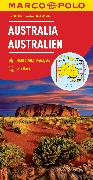 Cover-Bild zu MARCO POLO Kontinentalkarte Australien 1:4 000 000. 1:4'000'000