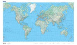 Cover-Bild zu Welt physikalisch 1:50 Mio. 1:50'000'000