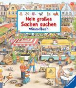 Cover-Bild zu Mein großes Sachen suchen - Wimmelbuch von Gernhäuser, Susanne