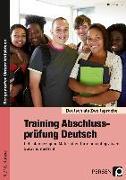 Cover-Bild zu Training Abschlussprüfung Deutsch von Lascho, Birgit