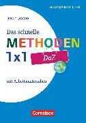 Cover-Bild zu Das schnelle Methoden 1x1 - Sekundarstufe I+II, DaZ, Mit Arbeitsmaterialien, Buch von Lascho, Birgit
