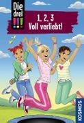Cover-Bild zu Die drei !!!, 1, 2, 3 Voll Verliebt! (drei Ausrufezeichen) (eBook) von Vogel, Maja von