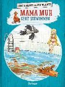 Cover-Bild zu Mama Muh geht schwimmen von Wieslander, Jujja