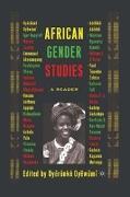 Cover-Bild zu African Gender Studies: A Reader von Oyewumi, Oyeronke (Hrsg.)